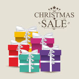 Christmas sale Stock Photography