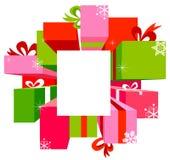 Christmas sale background Stock Image