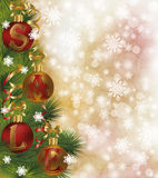 Christmas sale background Royalty Free Stock Photography