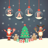 Christmas Sale Background Stock Images