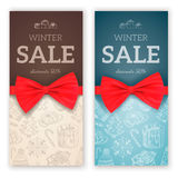 Christmas sale background. Royalty Free Stock Photography
