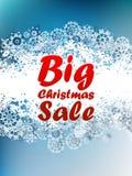 Christmas sale background. Stock Image