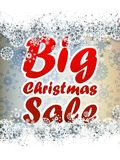 Christmas sale background. + EPS10 Royalty Free Stock Photography