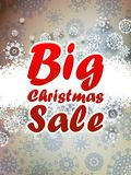 Christmas sale background. + EPS10 Stock Images