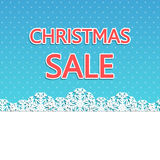 Christmas sale background Stock Photo