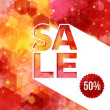 Christmas sale background Royalty Free Stock Images