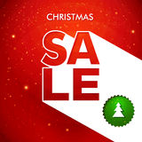 Christmas sale background. Stock Images