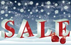 Christmas sale banner,  Stock Photos