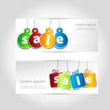 Christmas sale banner Stock Photography