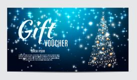 Christmas Sale Banner Background. Business Discount Card. Vector Illustration Royalty Free Stock Images