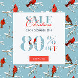 Christmas Sale Banner Royalty Free Stock Image