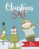Christmas Sale banner. Vector illustration vector illustration