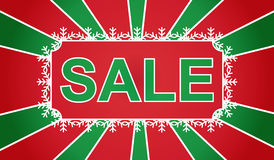 Christmas Sale banner vector illustration