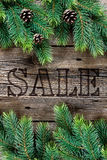 Christmas sale banner Stock Photo