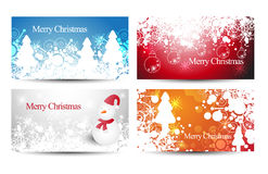 Christmas Sale Banners or cards. Vector Royalty Free Stock Photography