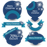 Christmas Sale Banners. Vector Stock Photos