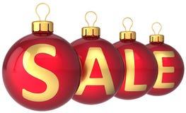 Christmas sale baubles (Hi-Res) Stock Image