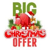 Christmas sale Stock Photography