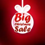 Christmas Sale card. + EPS10 Stock Photography