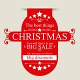 Christmas sale Stock Image