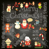 Christmas Sale Card Stock Images