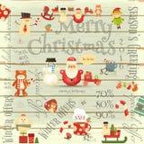 Christmas Sale Card Royalty Free Stock Image