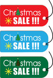 Christmas SALE Card Royalty Free Stock Images