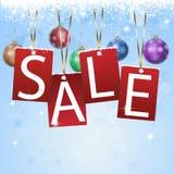 Christmas Sale Card Royalty Free Stock Photo