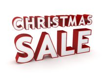 Christmas sale concept. Royalty Free Stock Photo