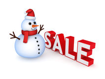 Christmas sale concept. Stock Photos