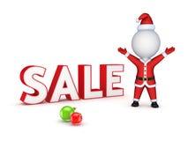 Christmas sale concept. Royalty Free Stock Photos