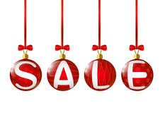 Christmas sale concept Royalty Free Stock Image