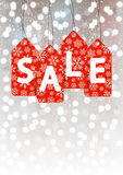 Christmas sale concept Stock Images