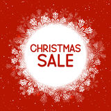 Christmas sale concept Stock Photography