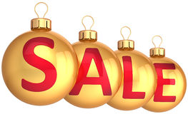 Christmas sale decoration (Hi-Res) Royalty Free Stock Images