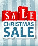 Christmas sale design Royalty Free Stock Photography