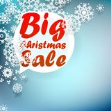Christmas sale design template. + EPS10 Stock Photos