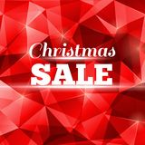 Christmas sale design template for your business Royalty Free Stock Photography