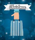Christmas sale design Royalty Free Stock Photography