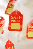 Christmas Sale or Discount Stock Photo