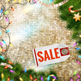 Christmas sale. EPS 10. Vector file included Stock Photos