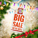 Christmas sale. EPS 10. Vector file included Royalty Free Stock Images