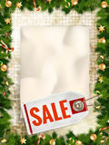Christmas sale. EPS 10. Vector file included Royalty Free Stock Photos