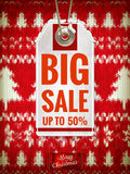 Christmas sale. EPS 10. Vector file included Royalty Free Stock Image
