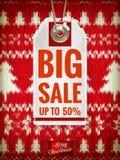 Christmas sale. EPS 10 Royalty Free Stock Image
