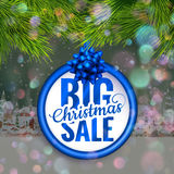After Christmas sale. EPS 10 Royalty Free Stock Photos
