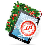 Christmas Sale Stock Images