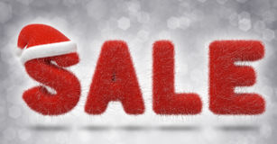 Christmas Sale fur Stock Photos