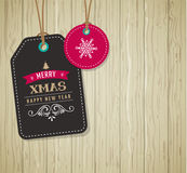 Christmas Sale, Gift Tags and labels Royalty Free Stock Photos