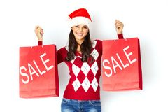 Christmas sale Royalty Free Stock Photos